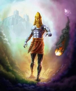 Statue-of-Nebuchadnezzar-Daniel-Chapter-2-Iron-and-Clay-Hyrbid-Nephilim-Kingdom-853x1024